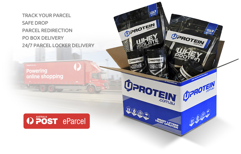 Uprotein Shipping Australia Post